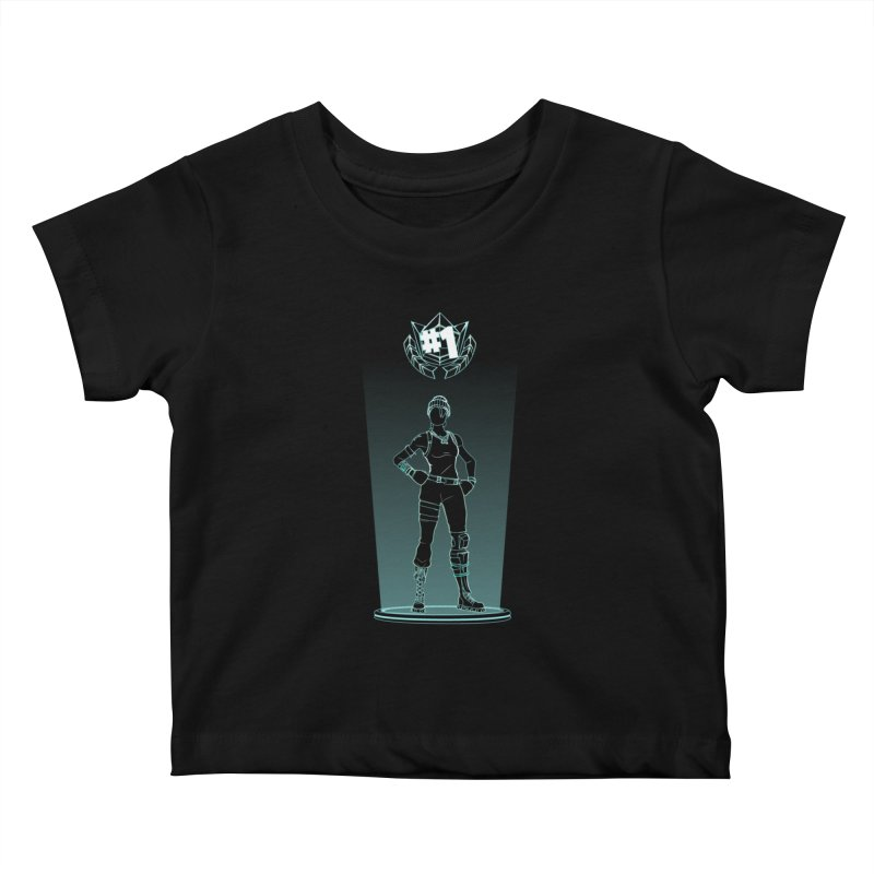 Shadow of the Recon Specialist Kids Baby T-Shirt by Donnie's Artist Shop