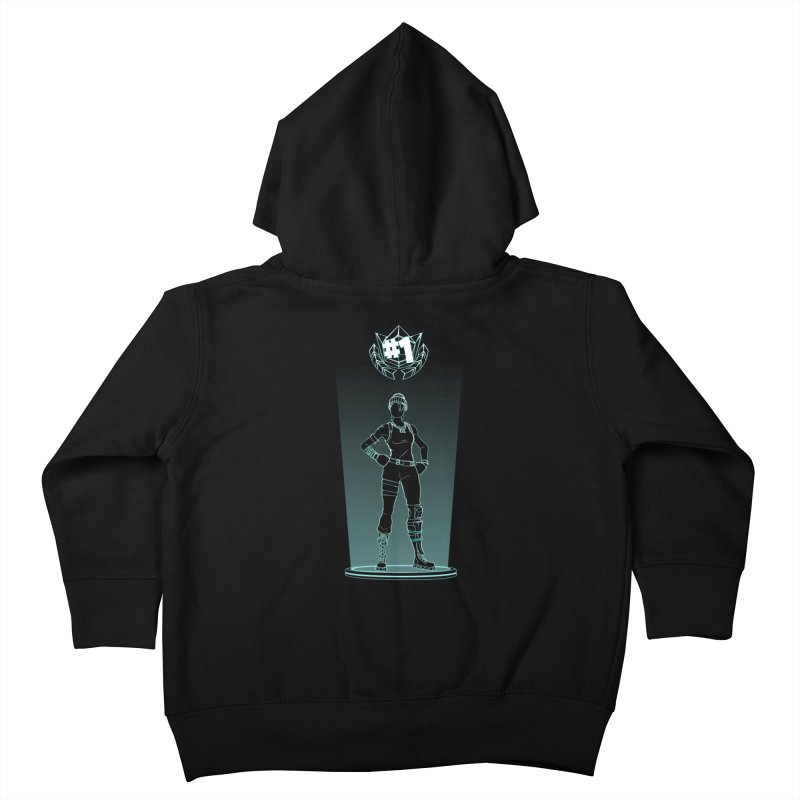 Shadow of the Recon Specialist Kids Toddler Zip-Up Hoody by Donnie's Artist Shop