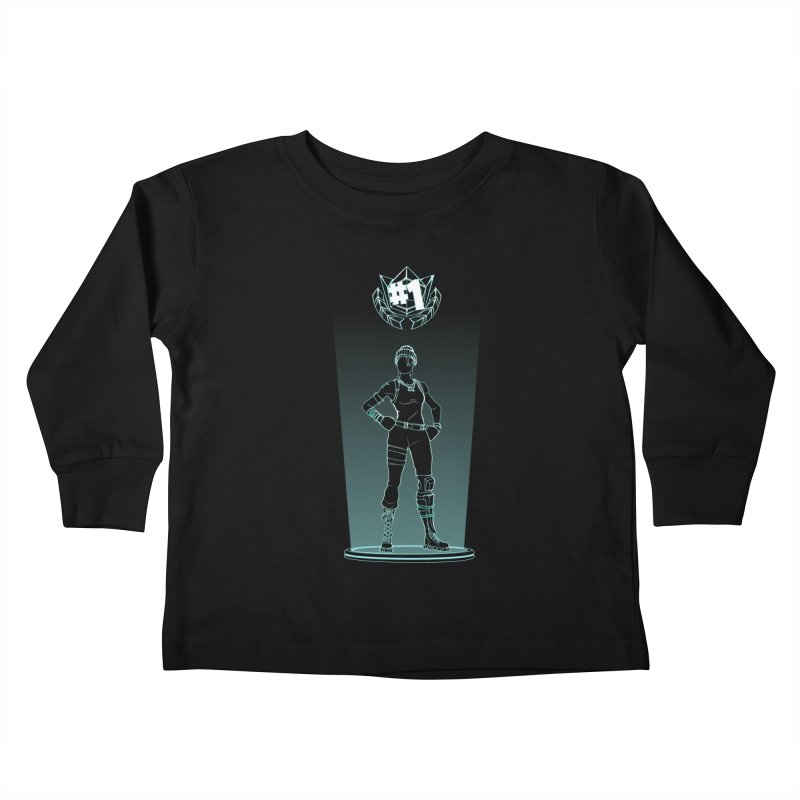 Shadow of the Recon Specialist Kids Toddler Longsleeve T-Shirt by Donnie's Artist Shop