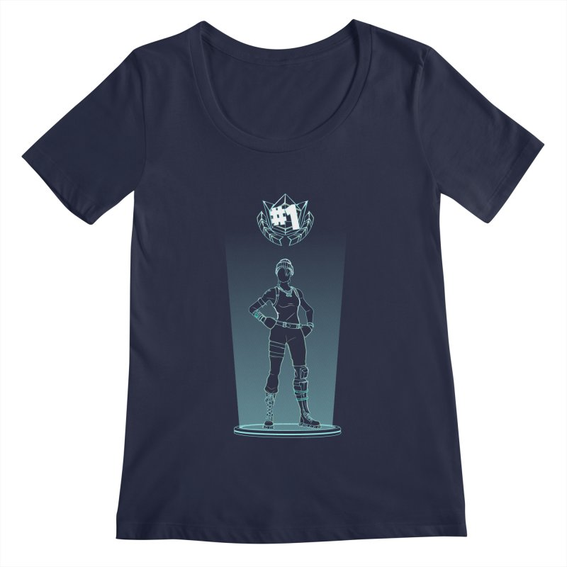 Shadow of the Recon Specialist Women's Regular Scoop Neck by Donnie's Artist Shop