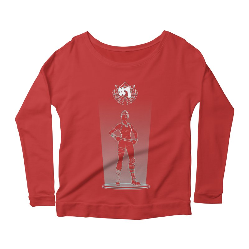 Shadow of the Recon Specialist Women's Scoop Neck Longsleeve T-Shirt by Donnie's Artist Shop