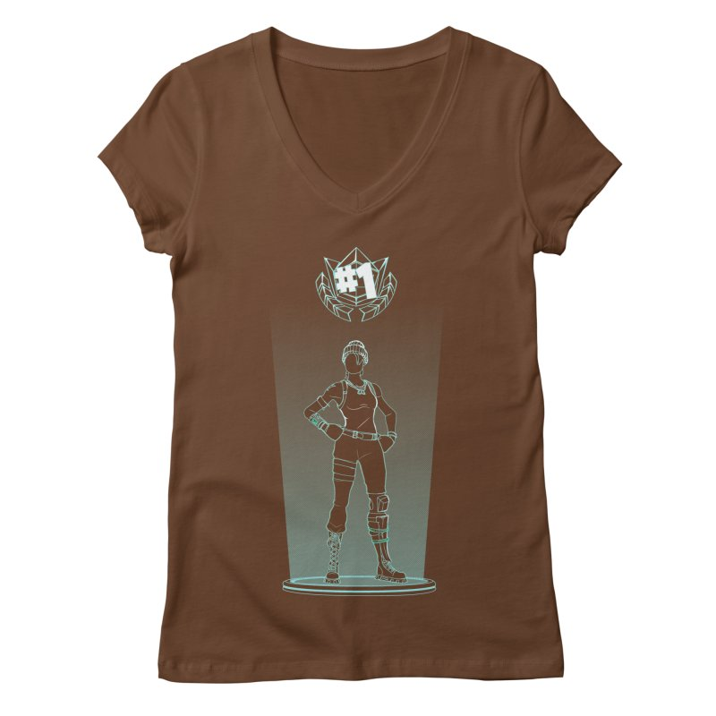 Shadow of the Recon Specialist Women's Regular V-Neck by Donnie's Artist Shop