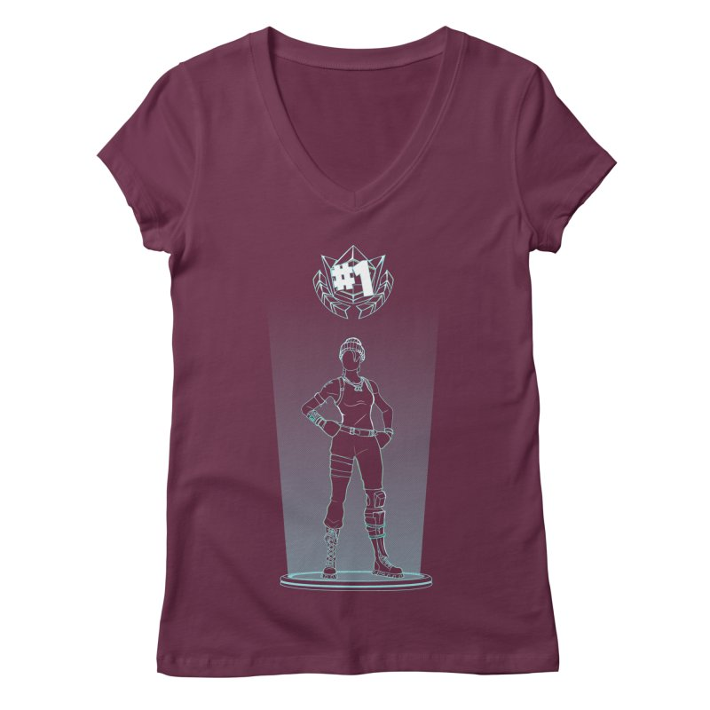 Shadow of the Recon Specialist Women's V-Neck by Donnie's Artist Shop