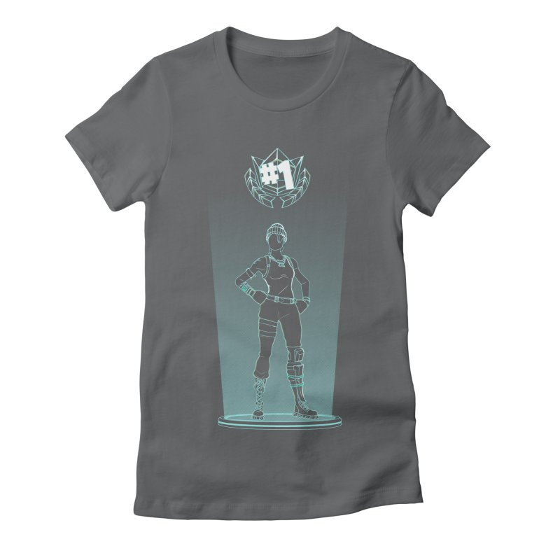 Shadow of the Recon Specialist Women's Fitted T-Shirt by Donnie's Artist Shop