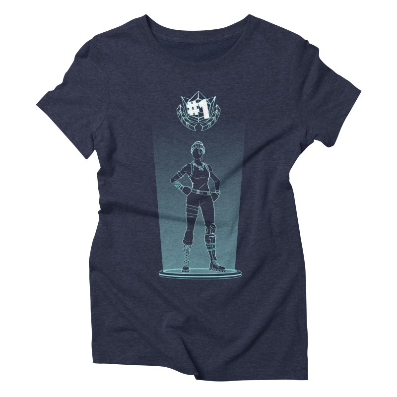 Shadow of the Recon Specialist Women's Triblend T-Shirt by Donnie's Artist Shop