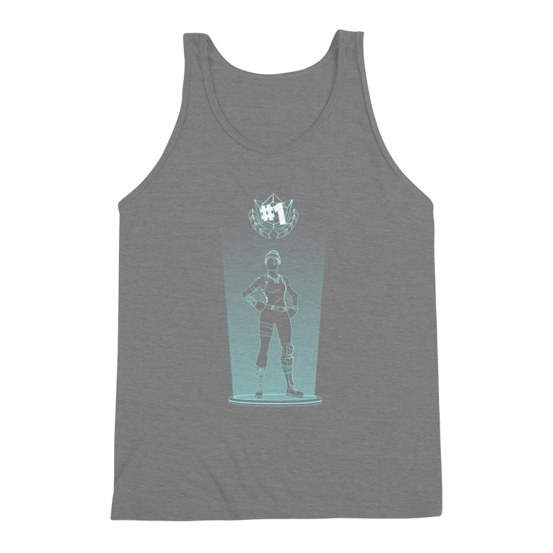 Shadow of the Recon Specialist Men's Triblend Tank by Donnie's Artist Shop