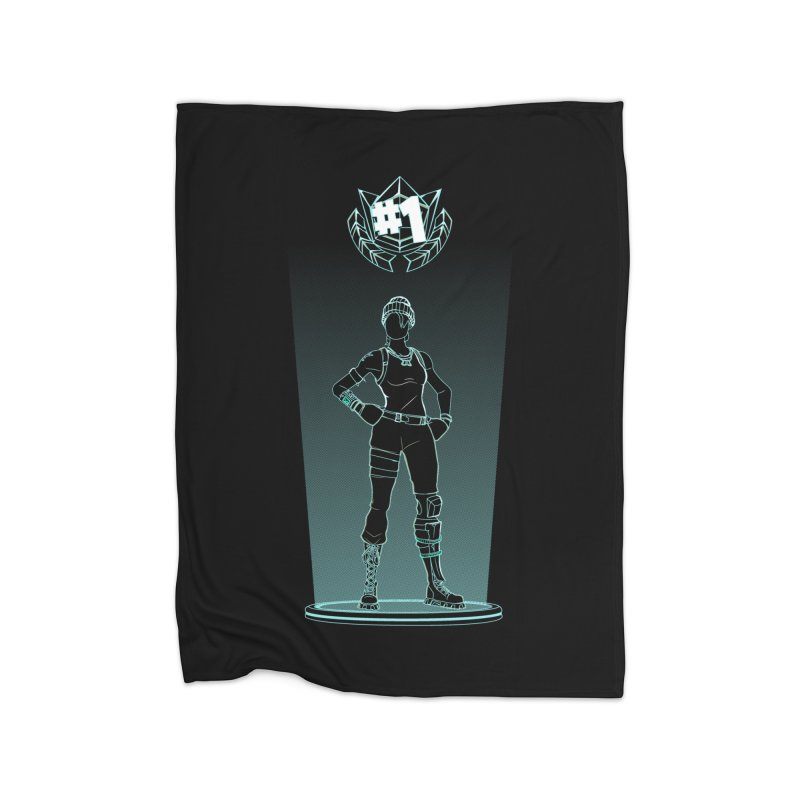 Shadow of the Recon Specialist Home Blanket by Donnie's Artist Shop