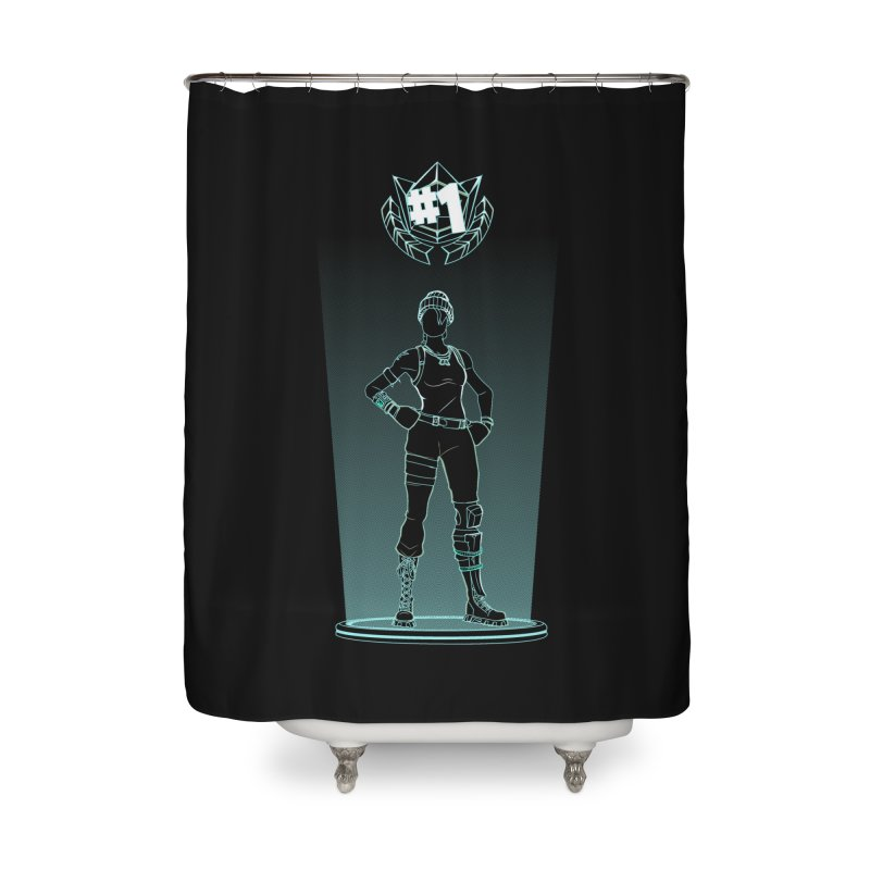 Shadow of the Recon Specialist Home Shower Curtain by Donnie's Artist Shop