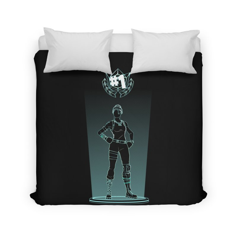 Shadow of the Recon Specialist Home Duvet by Donnie's Artist Shop
