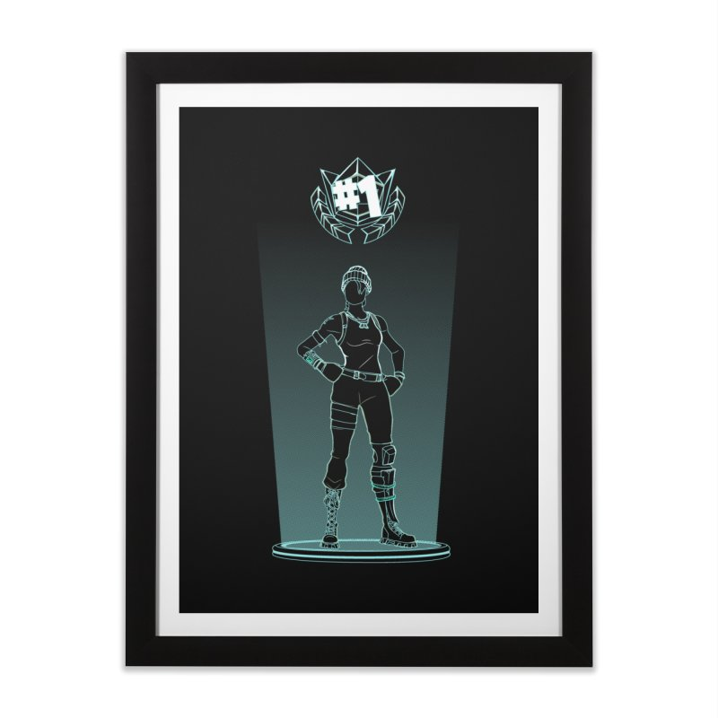 Shadow of the Recon Specialist Home Framed Fine Art Print by Donnie's Artist Shop