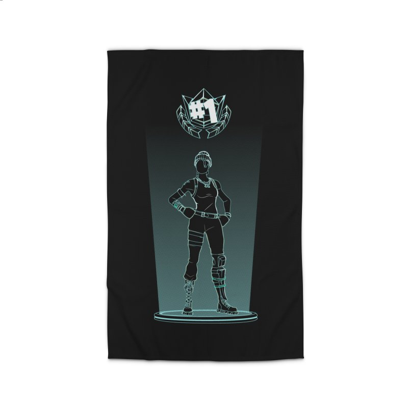 Shadow of the Recon Specialist Home Rug by Donnie's Artist Shop