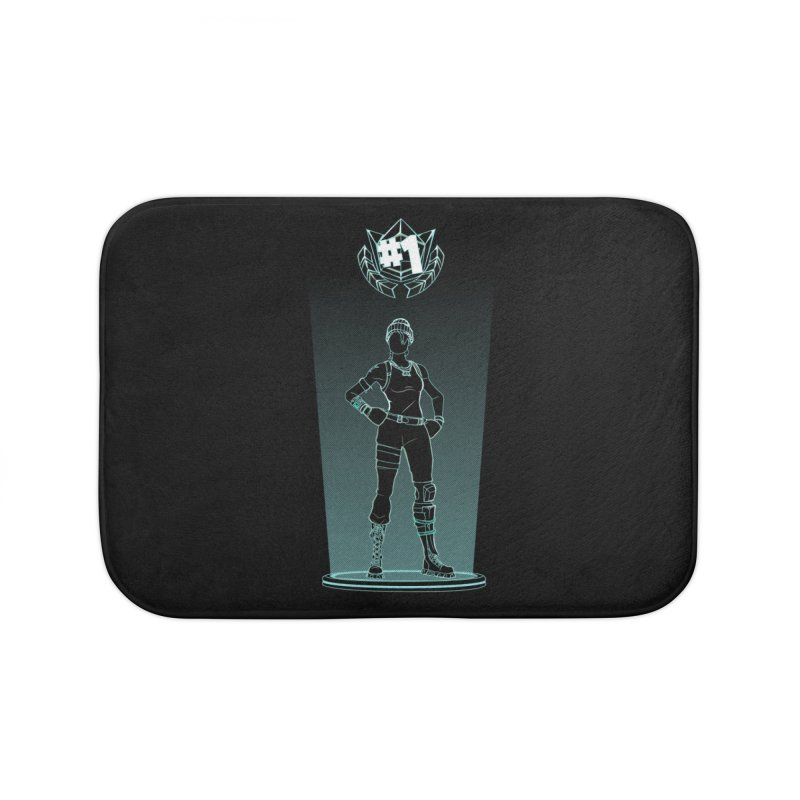 Shadow of the Recon Specialist Home Bath Mat by Donnie's Artist Shop