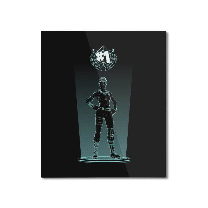 Shadow of the Recon Specialist Home Mounted Aluminum Print by Donnie's Artist Shop