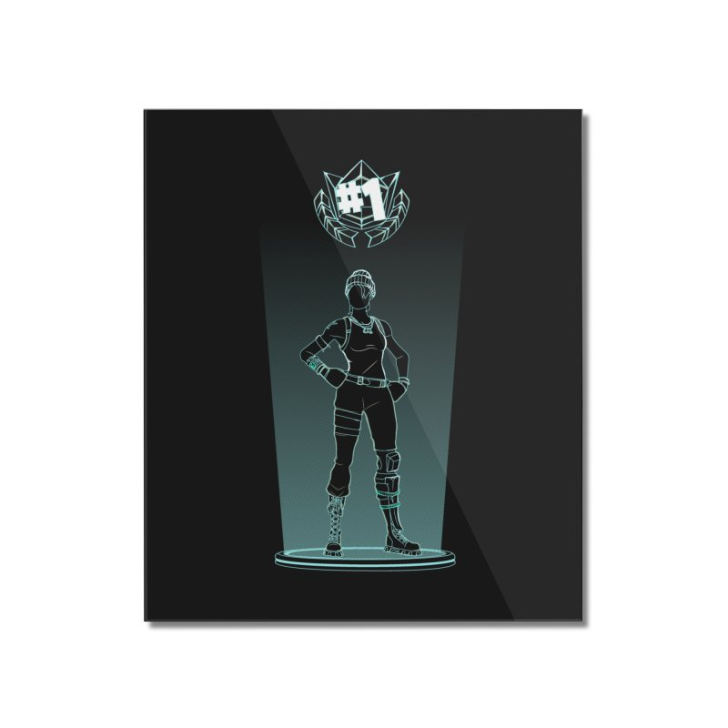 Shadow of the Recon Specialist Home Mounted Acrylic Print by Donnie's Artist Shop