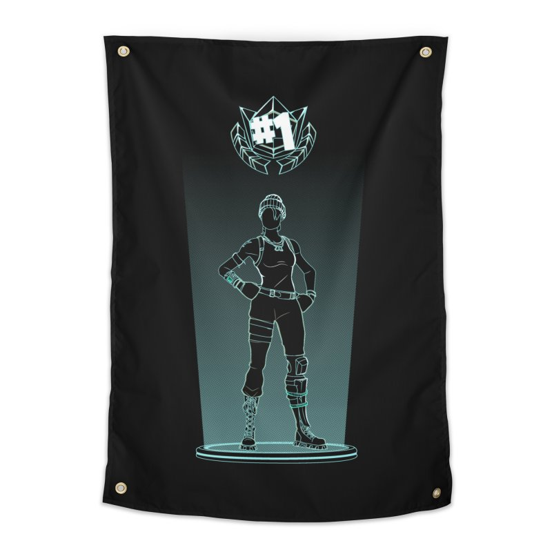 Shadow of the Recon Specialist Home Tapestry by Donnie's Artist Shop