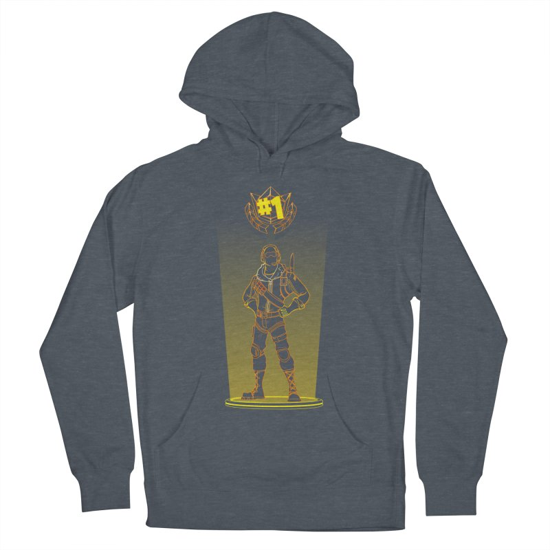 Shadow of the Raptor Men's French Terry Pullover Hoody by Donnie's Artist Shop