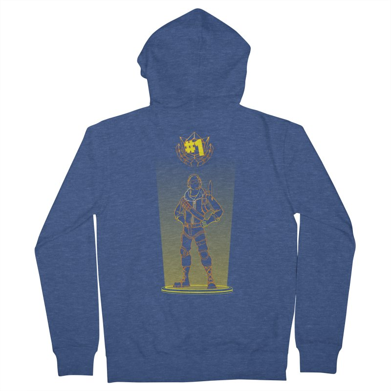 Shadow of the Raptor Men's Zip-Up Hoody by Donnie's Artist Shop