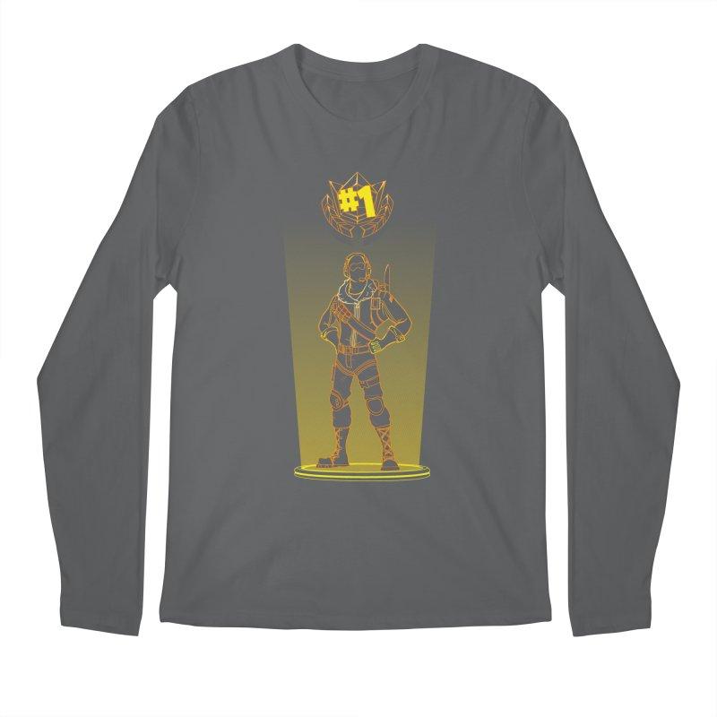Shadow of the Raptor Men's Regular Longsleeve T-Shirt by Donnie's Artist Shop