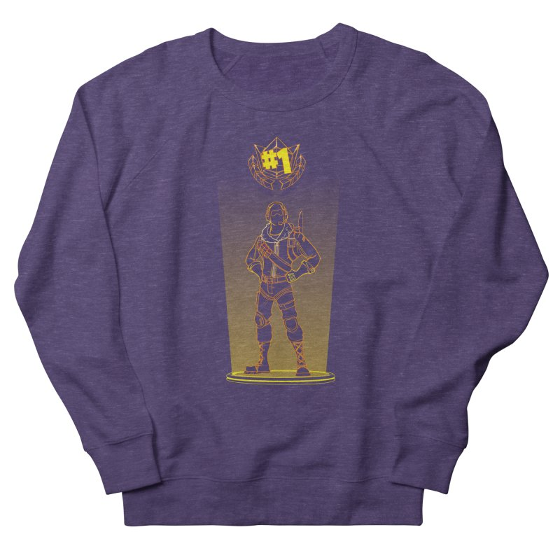 Shadow of the Raptor Men's French Terry Sweatshirt by Donnie's Artist Shop