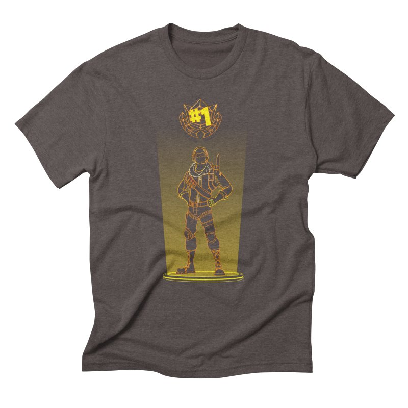 Shadow of the Raptor Men's Triblend T-Shirt by Donnie's Artist Shop