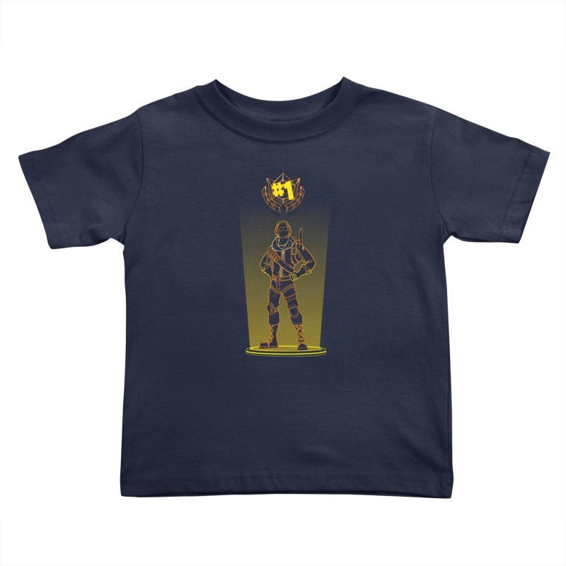 Shadow of the Raptor Kids Toddler T-Shirt by Donnie's Artist Shop