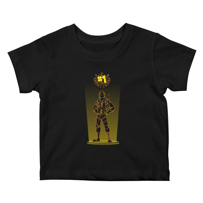 Shadow of the Raptor Kids Baby T-Shirt by Donnie's Artist Shop