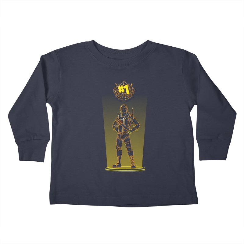 Shadow of the Raptor Kids Toddler Longsleeve T-Shirt by Donnie's Artist Shop