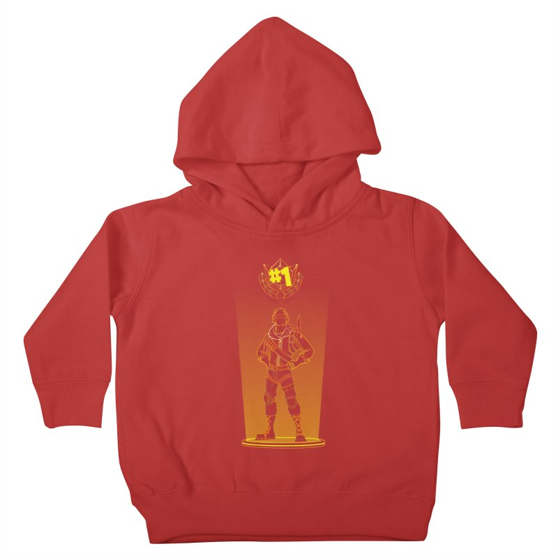 Shadow of the Raptor Kids Toddler Pullover Hoody by Donnie's Artist Shop