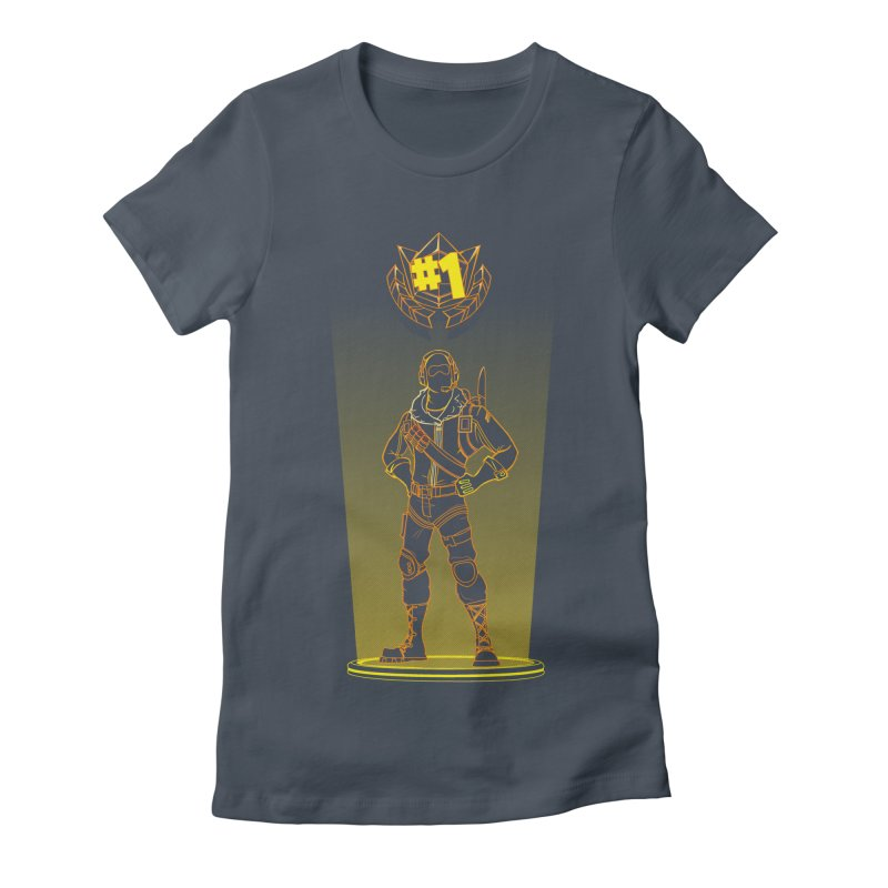 Shadow of the Raptor Women's Fitted T-Shirt by Donnie's Artist Shop