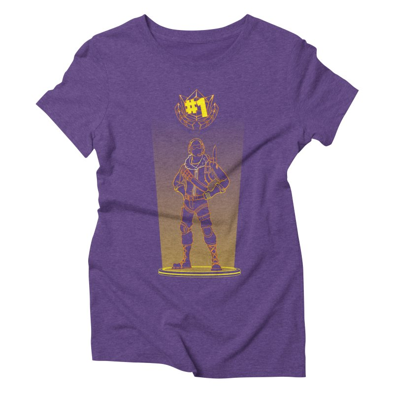 Shadow of the Raptor Women's Triblend T-Shirt by Donnie's Artist Shop