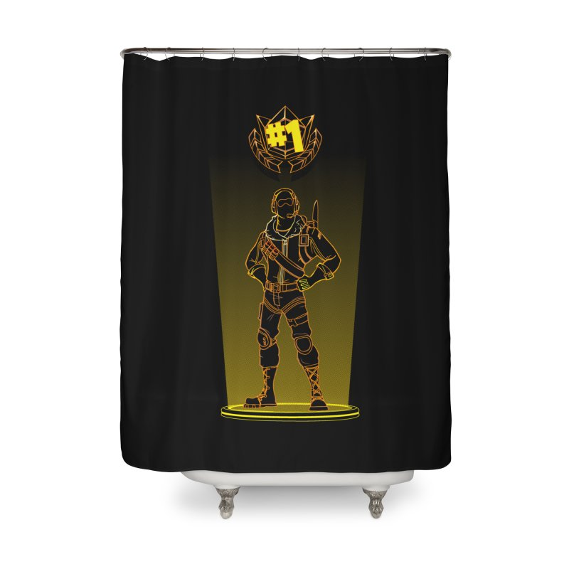Shadow of the Raptor Home Shower Curtain by Donnie's Artist Shop