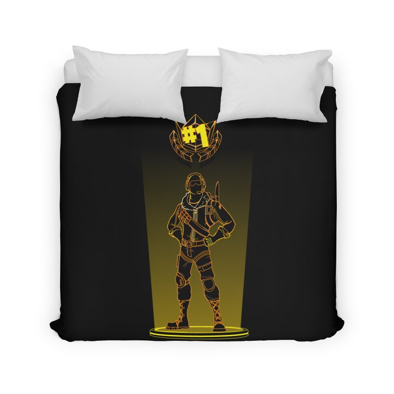 Shadow of the Raptor Home Duvet by Donnie's Artist Shop