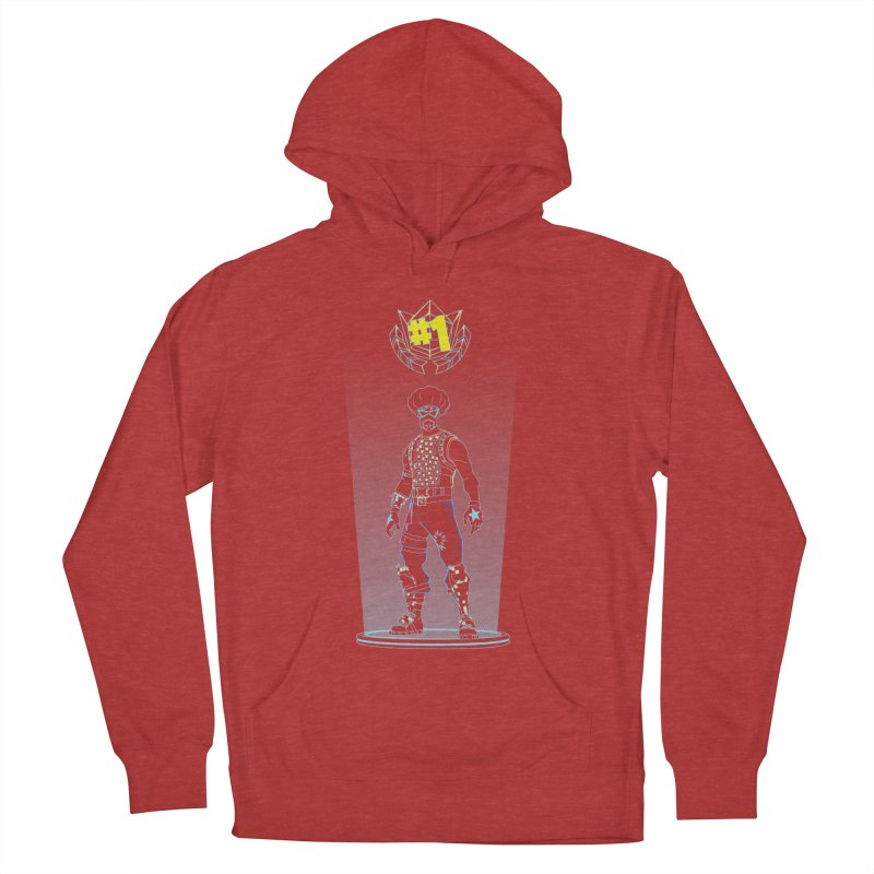 Shadow of the Funk Men's French Terry Pullover Hoody by Donnie's Artist Shop