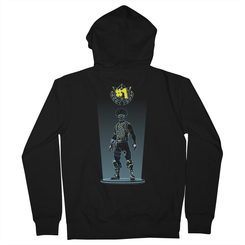 Shadow of the Funk Men's Zip-Up Hoody by Donnie's Artist Shop