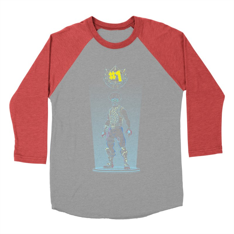 Shadow of the Funk Men's Baseball Triblend Longsleeve T-Shirt by Donnie's Artist Shop