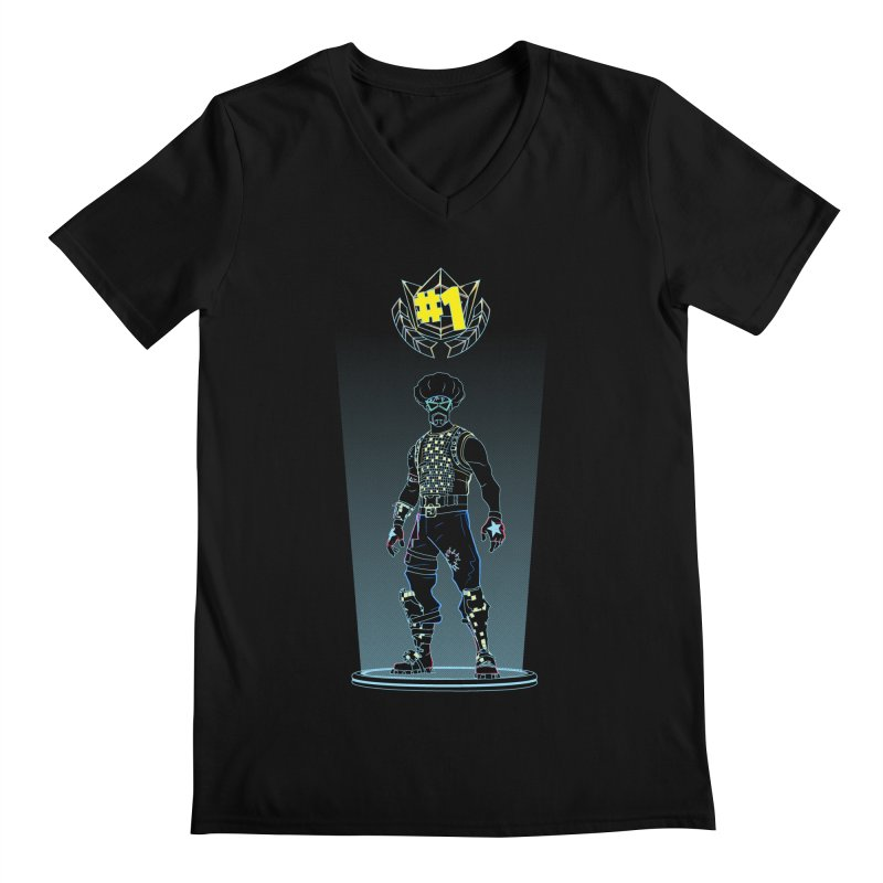 Shadow of the Funk Men's Regular V-Neck by Donnie's Artist Shop