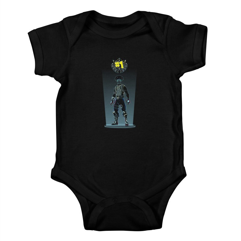 Shadow of the Funk Kids Baby Bodysuit by Donnie's Artist Shop