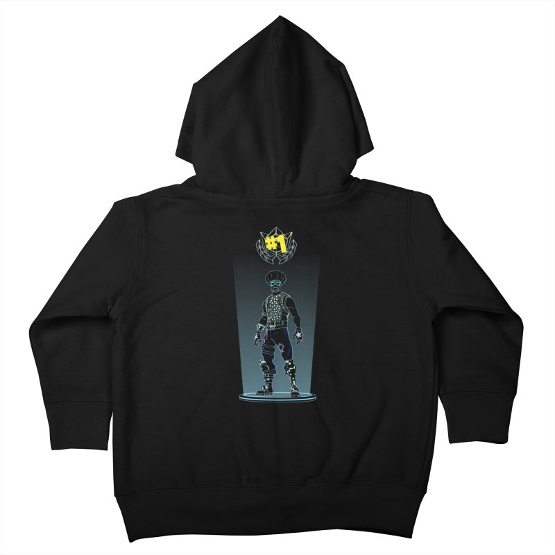 Shadow of the Funk Kids Toddler Zip-Up Hoody by Donnie's Artist Shop