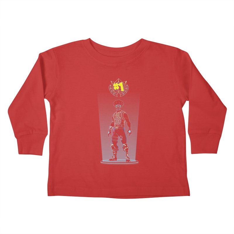 Shadow of the Funk Kids Toddler Longsleeve T-Shirt by Donnie's Artist Shop