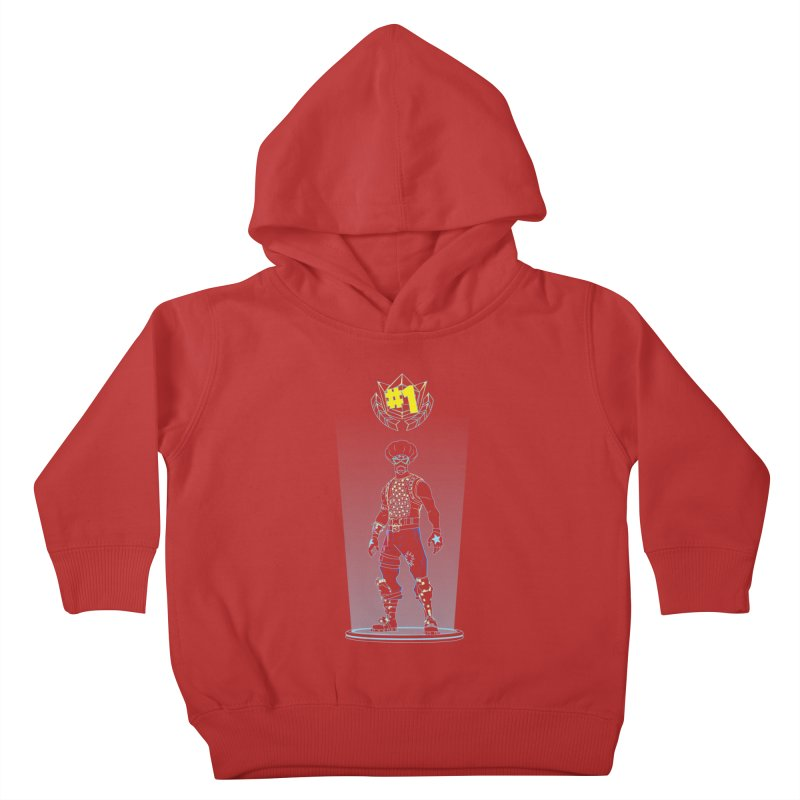 Shadow of the Funk Kids Toddler Pullover Hoody by Donnie's Artist Shop
