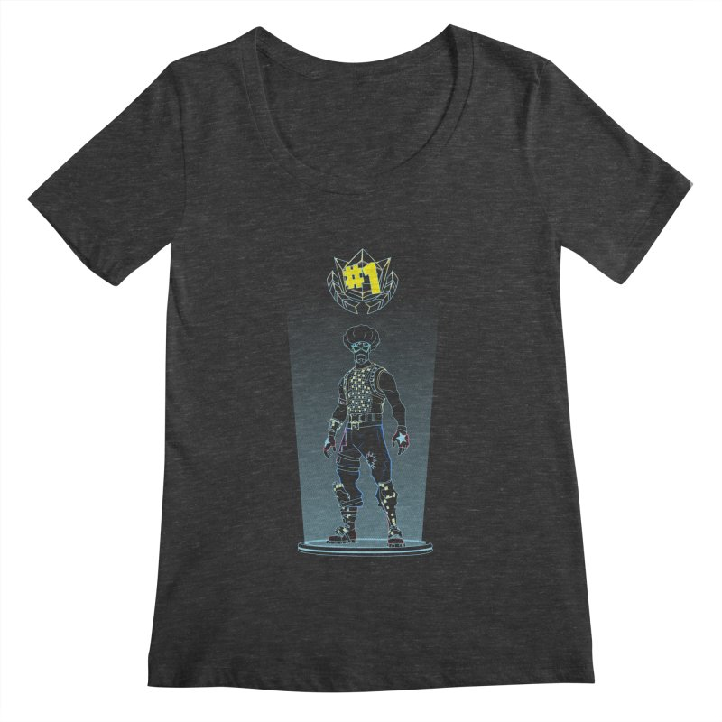 Shadow of the Funk Women's Scoopneck by Donnie's Artist Shop