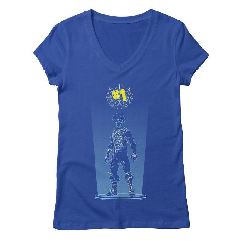 Shadow of the Funk Women's V-Neck by Donnie's Artist Shop