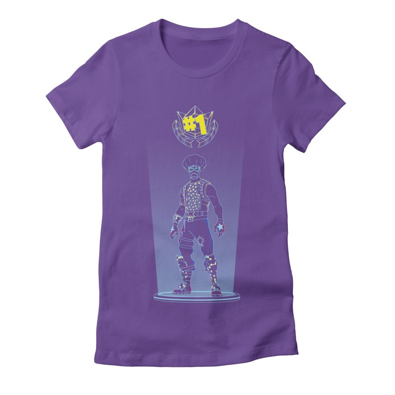 Shadow of the Funk Women's Fitted T-Shirt by Donnie's Artist Shop
