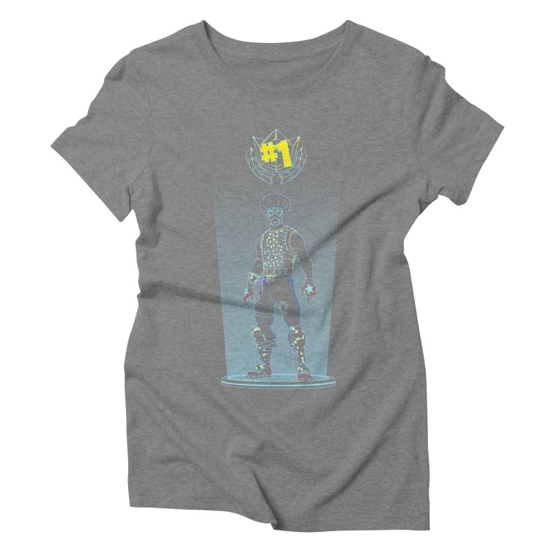 Shadow of the Funk Women's Triblend T-Shirt by Donnie's Artist Shop