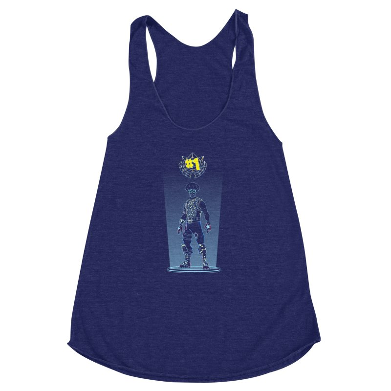 Shadow of the Funk Women's Racerback Triblend Tank by Donnie's Artist Shop