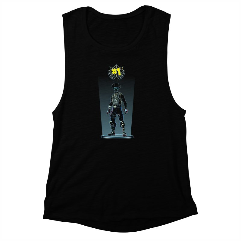 Shadow of the Funk Women's Muscle Tank by Donnie's Artist Shop