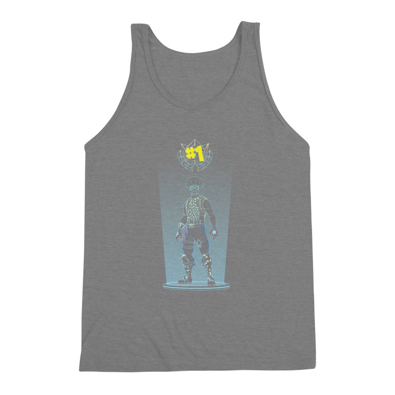 Shadow of the Funk Men's Triblend Tank by Donnie's Artist Shop