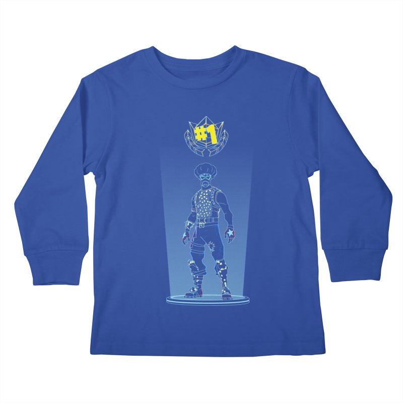 Shadow of the Funk Kids Longsleeve T-Shirt by Donnie's Artist Shop