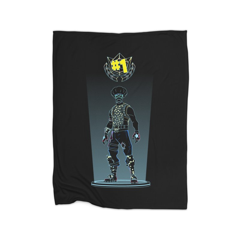 Shadow of the Funk Home Blanket by Donnie's Artist Shop