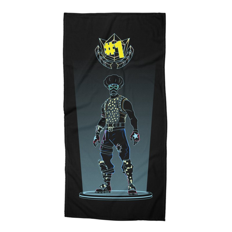 Shadow of the Funk Accessories Beach Towel by Donnie's Artist Shop